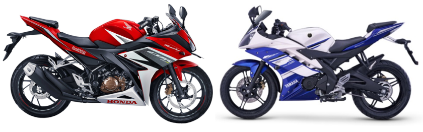All New CBR150R vs YZF-R15