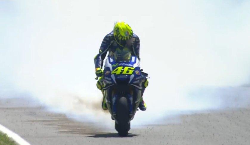 Rossi engine Blown