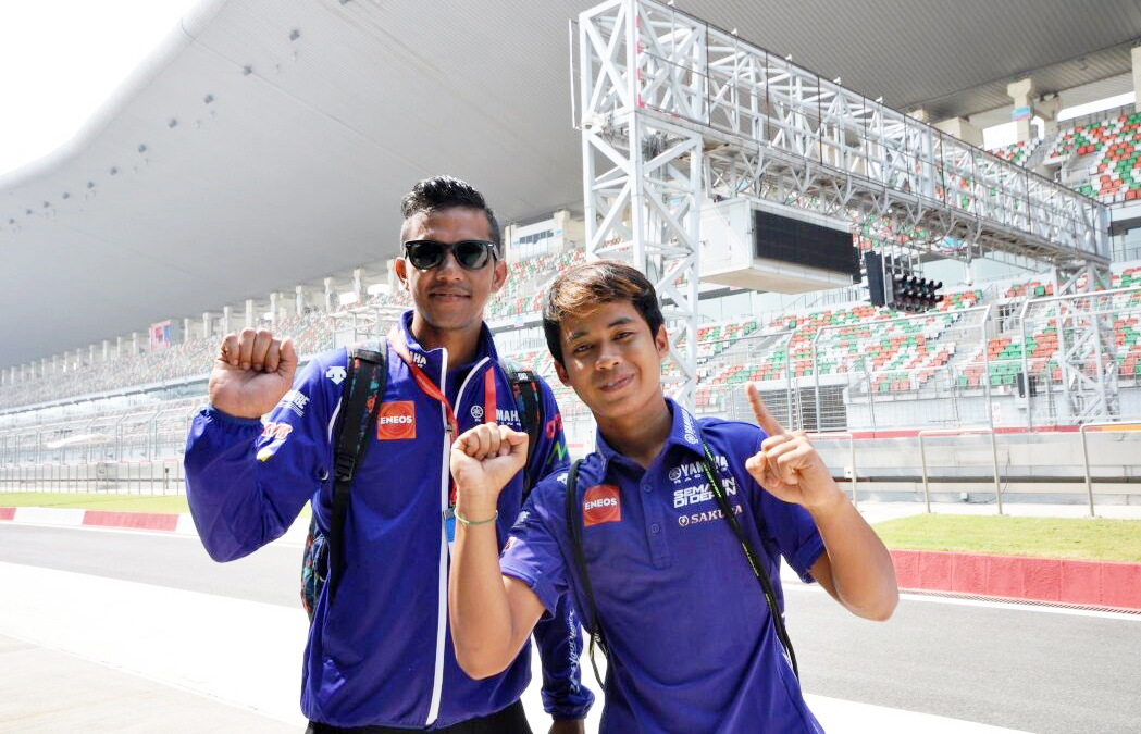 rey-ratukore-kiri-galang-hendra-pratama-di-buddh-international-circuit-india