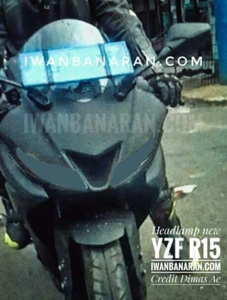 ​NEW YAMAHA R15 V3 BERKONSEP TWO FACE