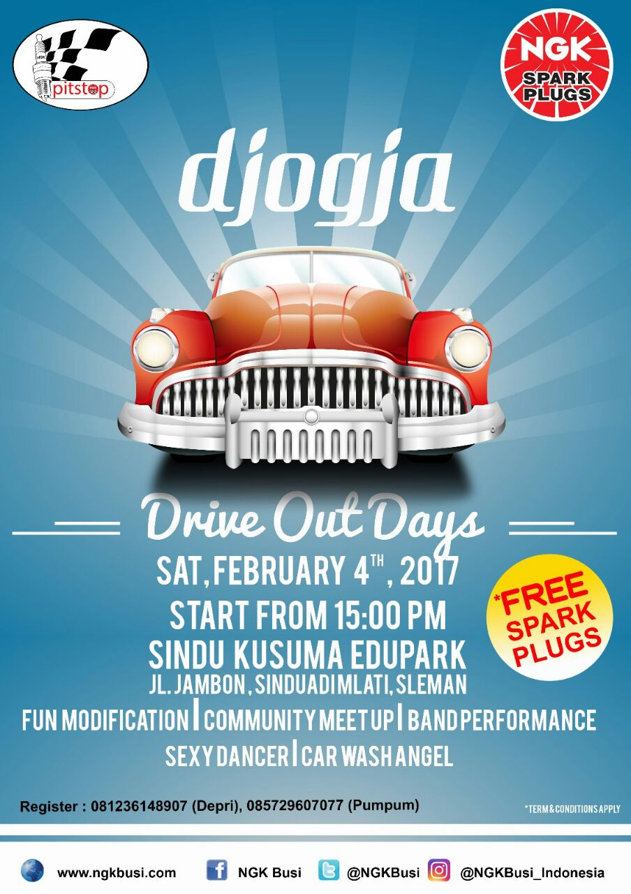 DJOGJA DRIVE OUT DAYS