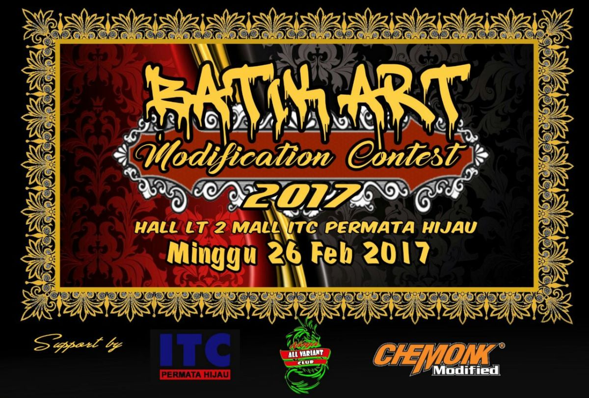 BATIK ART MODIFICATION CONTEST2017