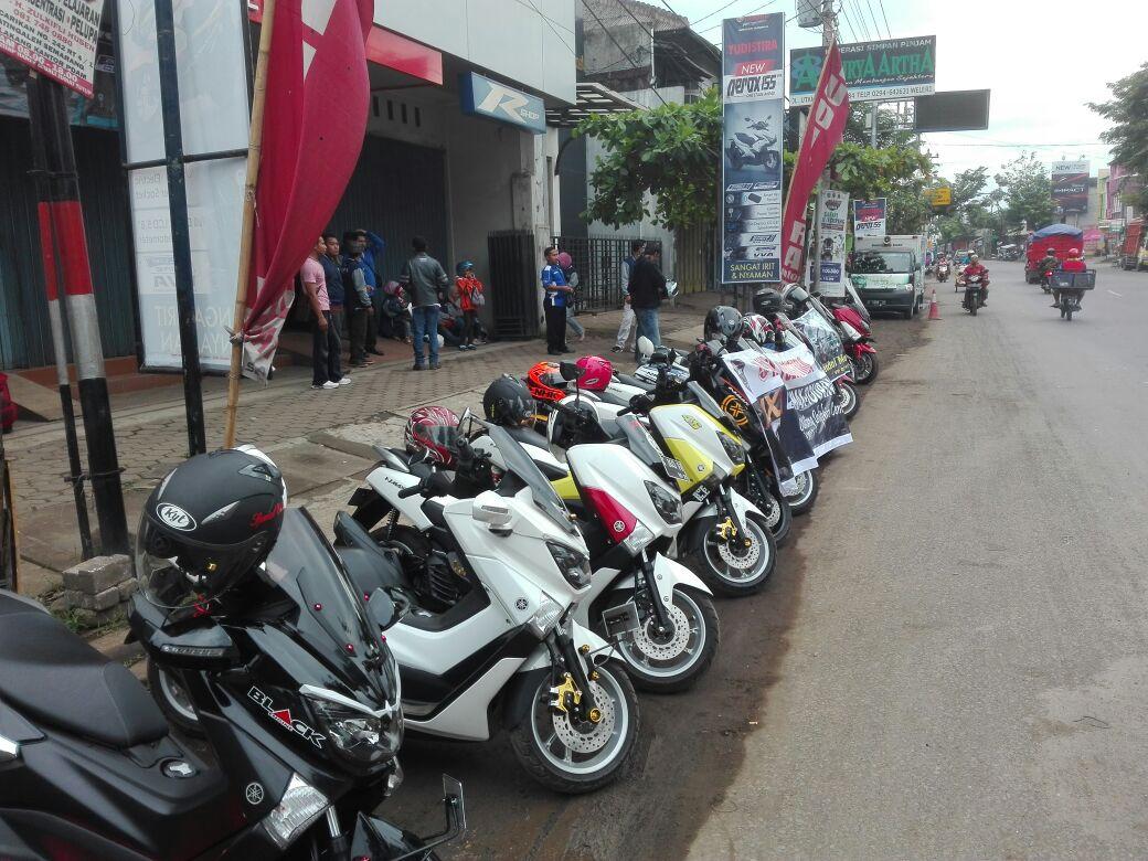 MAXI Touring pada event MAXIYAMAHADAY di Batang Jawa Tengah (2)