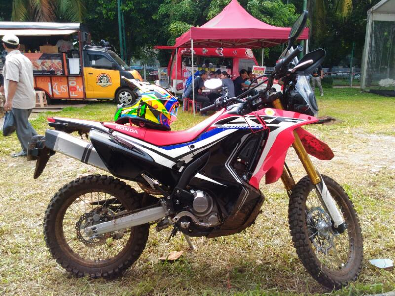 HONDA LUNCURKAN MOTOR ADVENTURE CRF 250RALLY