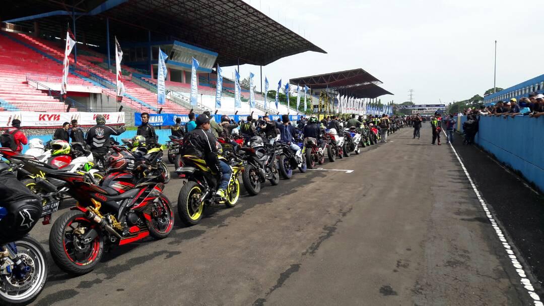 SUNDAY RACE SERI PERTAMA, PESTANYA PENGGUNA VIXION DANR15