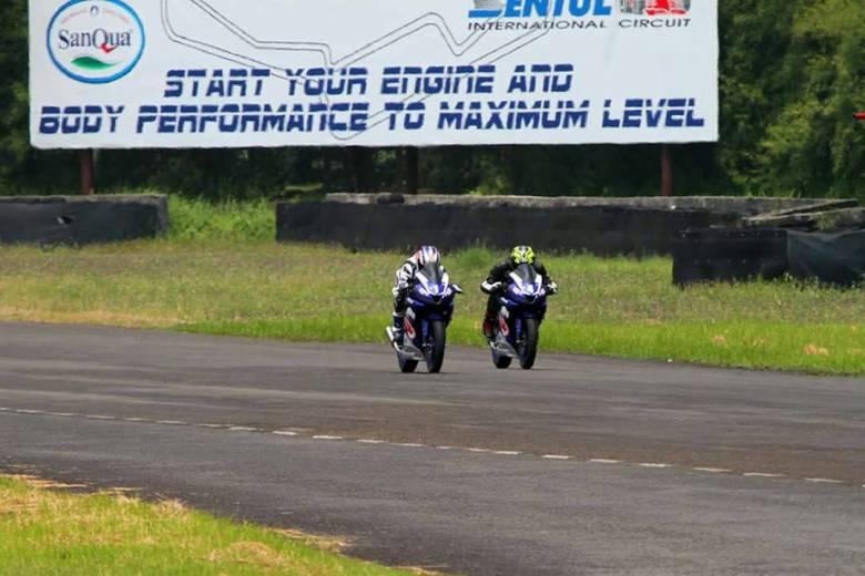 Sprint Line Sentul, di motor no. 1 adalah Mr. Morimoto. President dari Yamaha Indonesia Motor Manufacturing