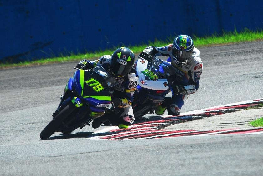 Dominasi Podium Race 2 Sport 150 cc Race 2