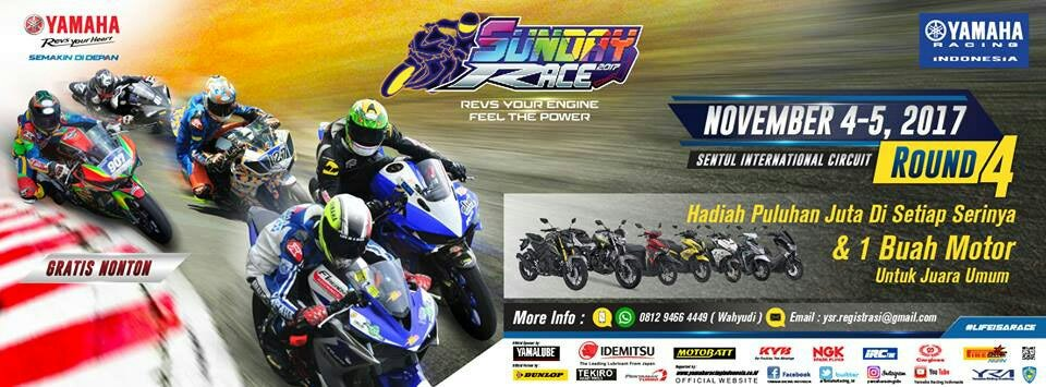 FULL RUNDOWN FINAL ROUND YAMAHA SUNDAY RACE REVISI
