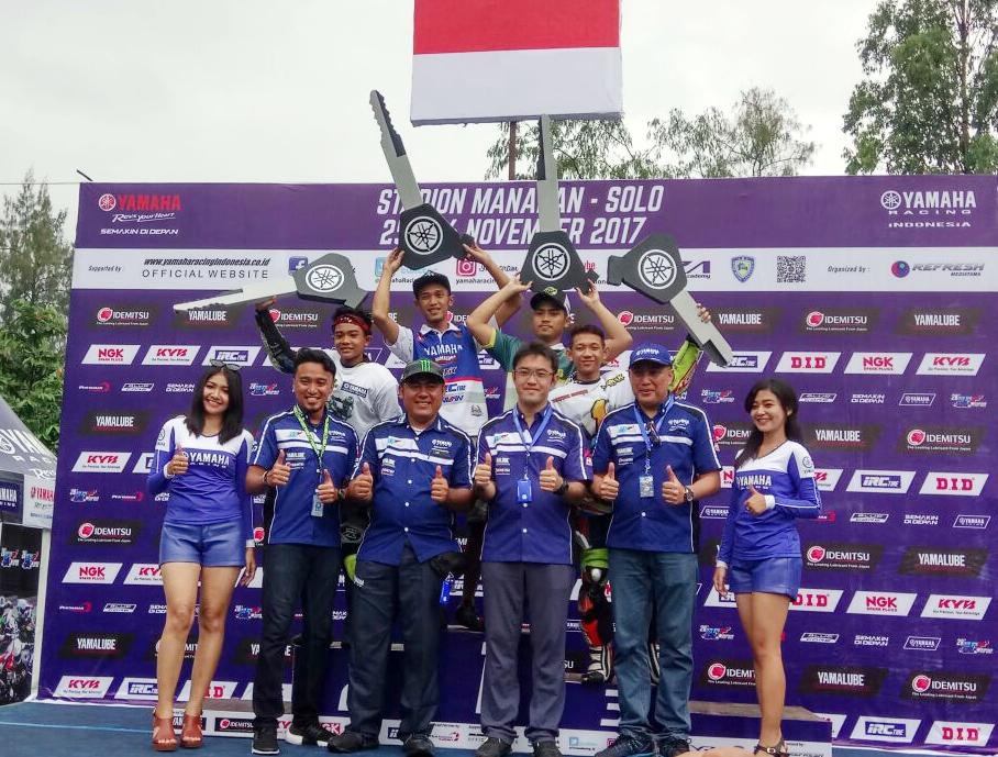YAMAHA CUP RACE FINAL ROUND PADAT DIIKUTI 131 RIDERS DAN 12 RIBUPENONTON
