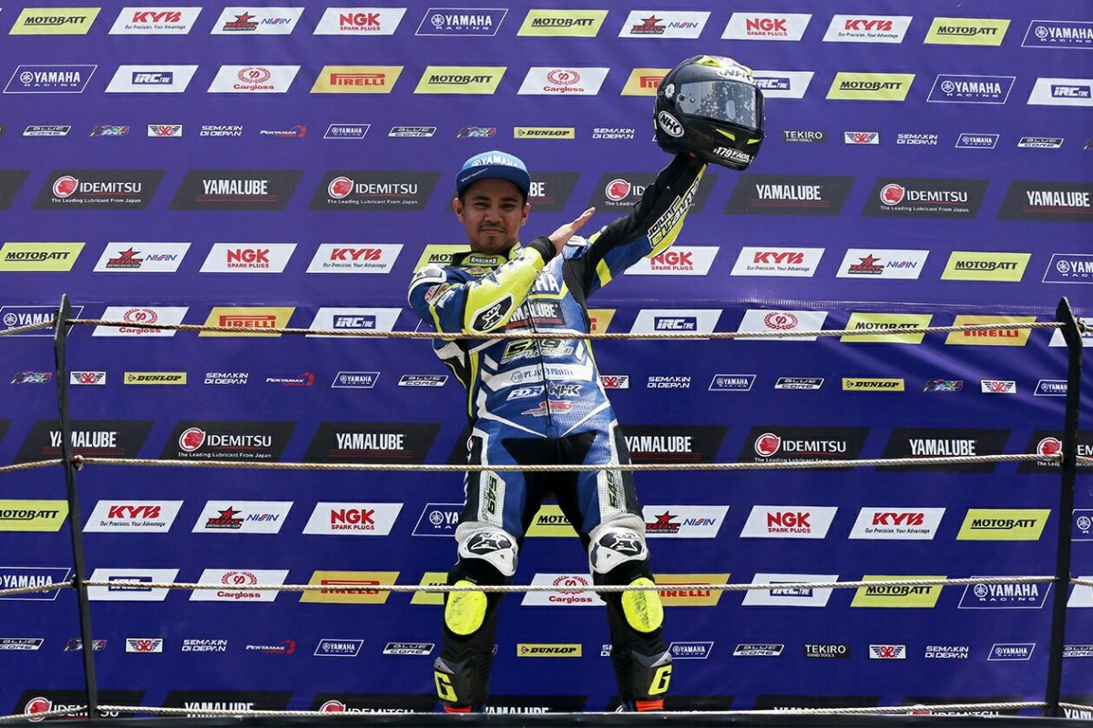 JUARA UMUM SUNDAY RACE SPORT 150 SIAP TAMPIL DI SERI AKHIR ARRCTHAILAND