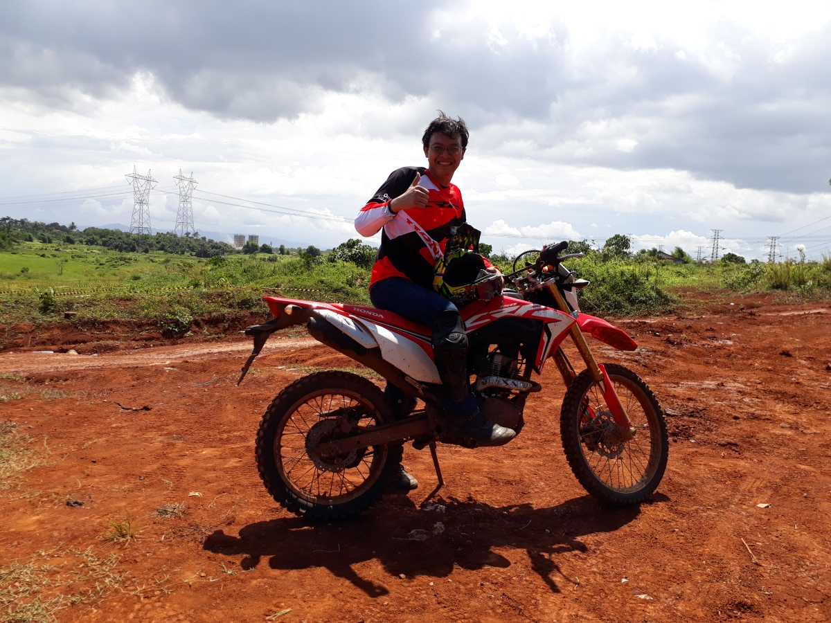 RIDING SENSATION HONDA CRF 150L, LEARN FROM THE EXISTING
