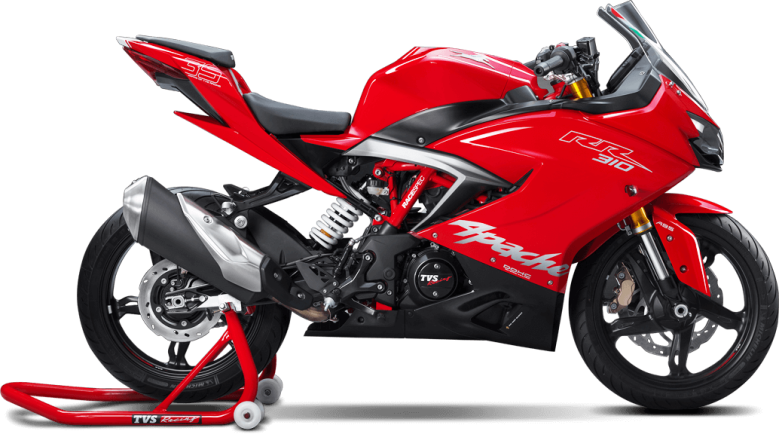 TVS Apache RR 310 - Red