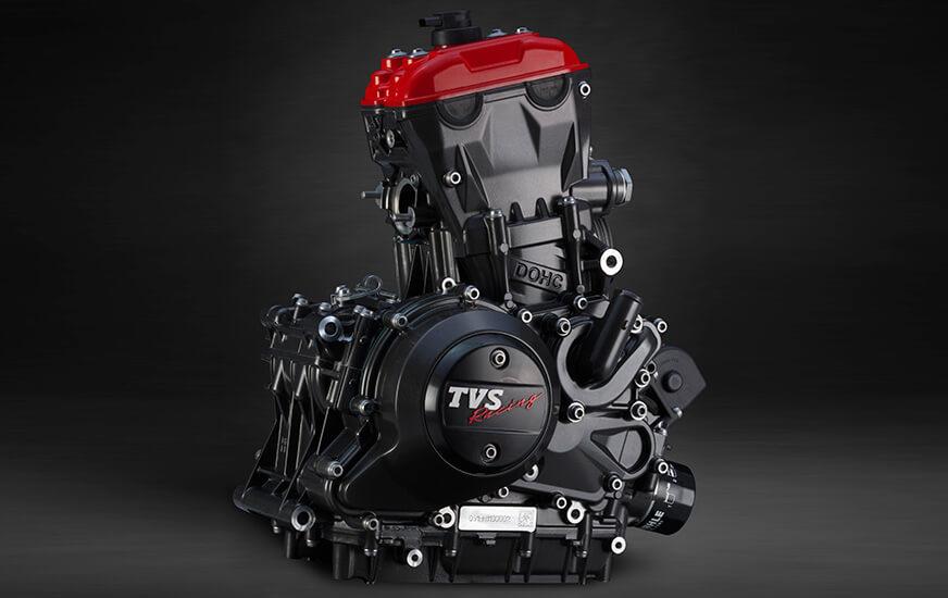 Unique-Reverse-Inclined-DOHC-Engine