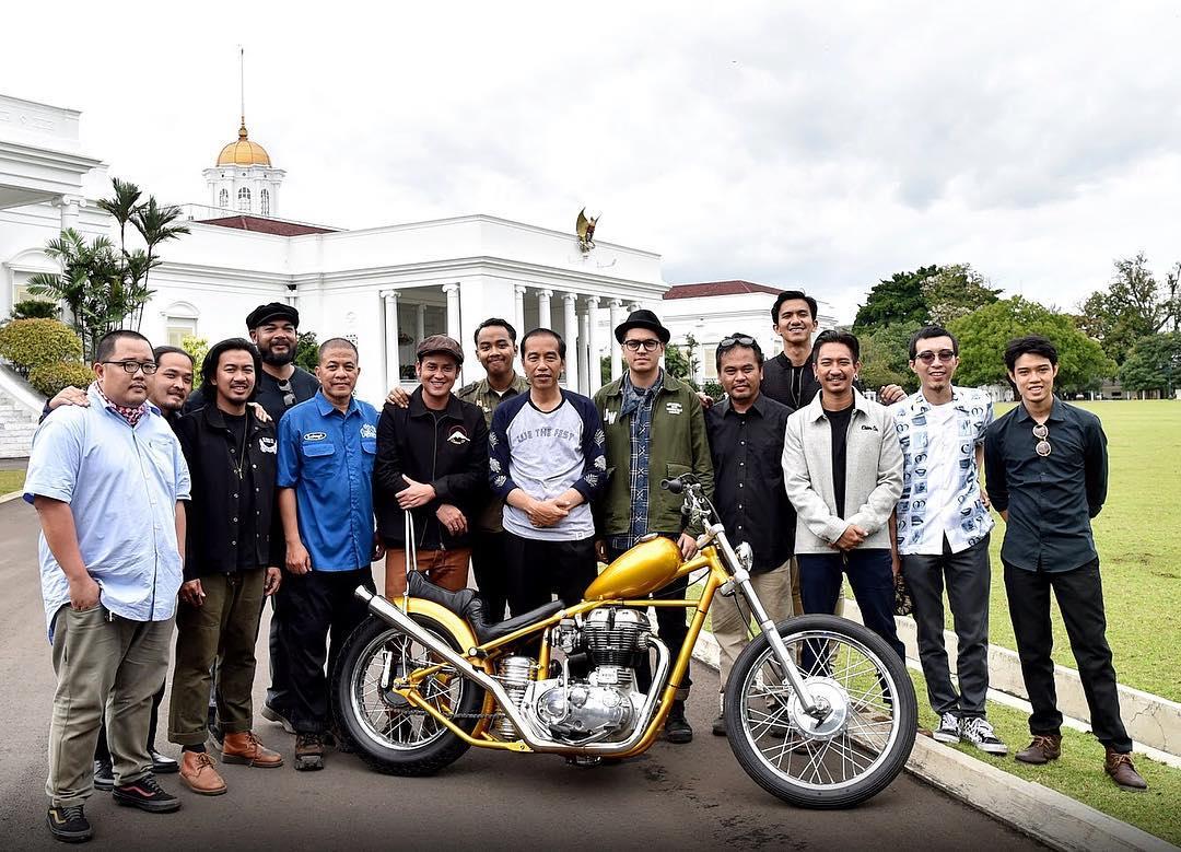 MENGINTIP MOTOR CHOPPER MODIFIKASI PRESIDENJOKOWI
