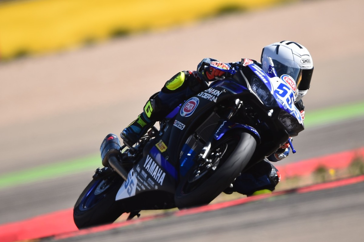 RIDER INDONESIA TERCEPAT DALAM TES PRA MUSIM WORLD SUPERSPORT ARAGON