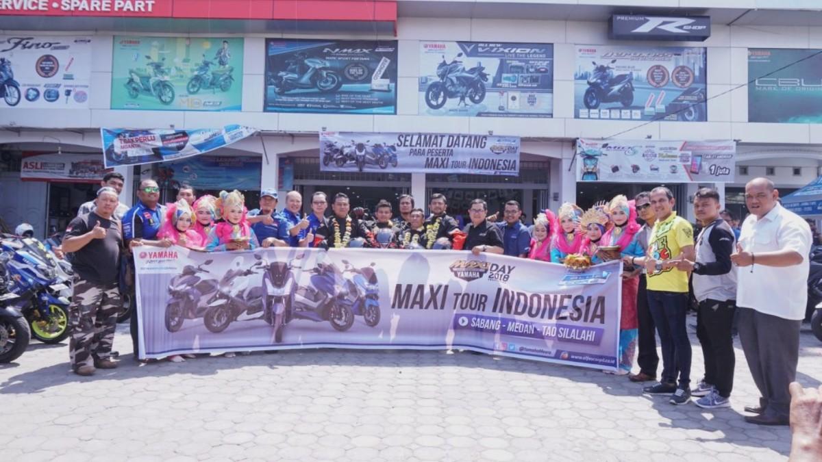 MAXI YAMAHA TOUR DE INDONESIA, BERJELAJAH UNTUKBERBAGI