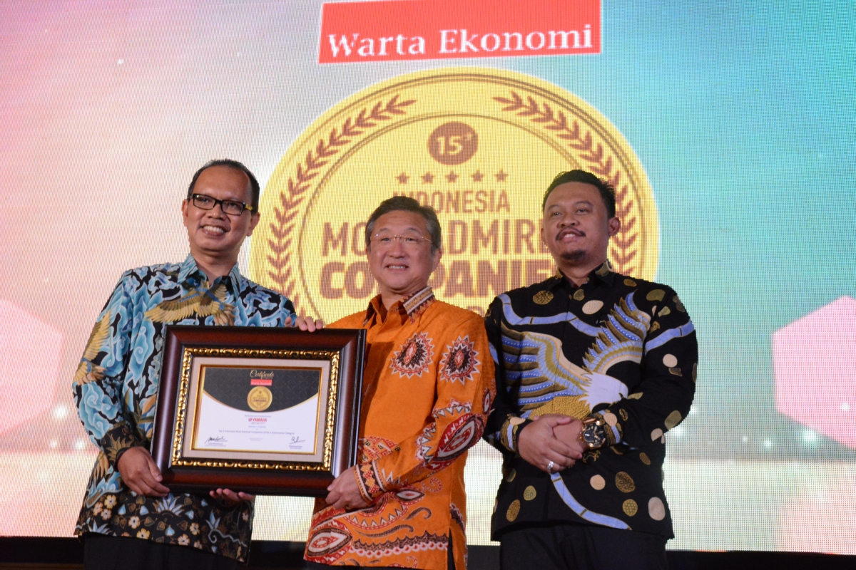 YAMAHA INDONESIA MENJADI PERUSAHAAN YANG PALING DIIDAMKAN UNTUKBEKERJA
