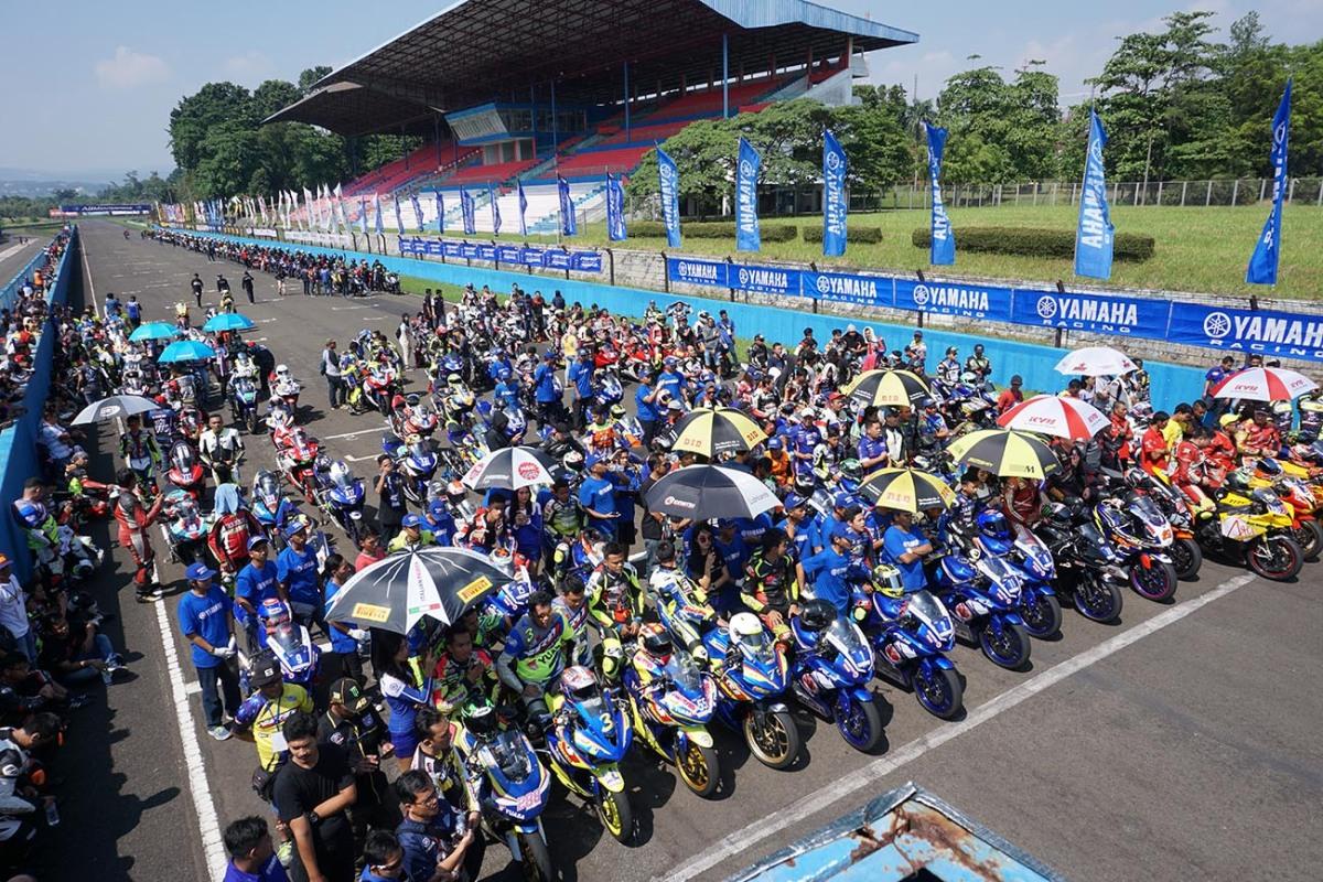 YAMAHA SUNDAY RACE SERI-2 SAMPAI DIIKUTI KOMUNITAS DARIPAPUA