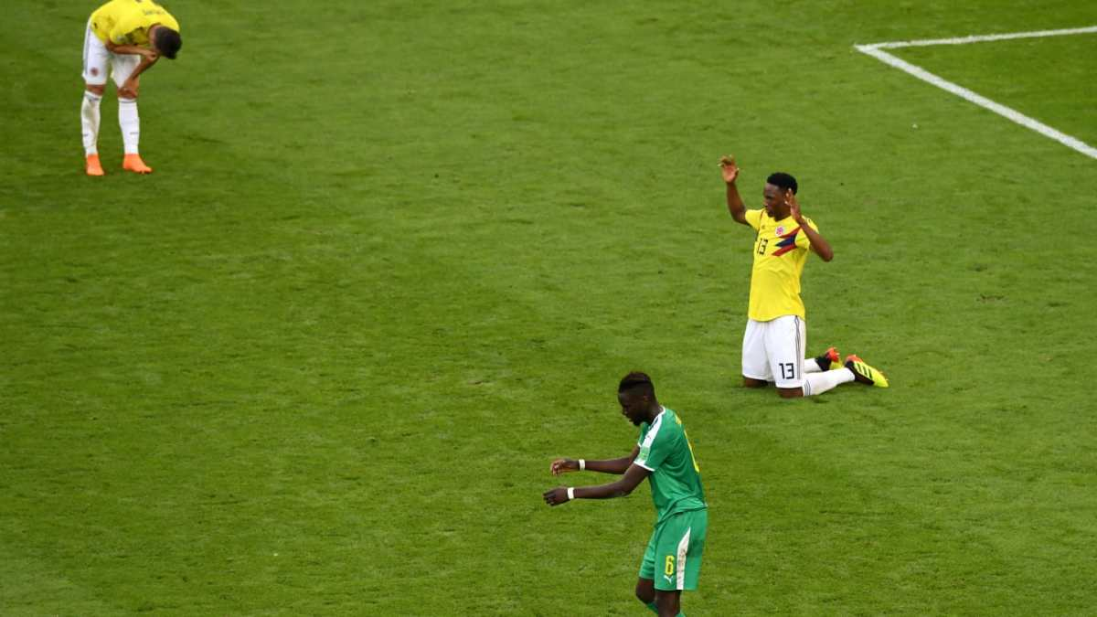 FIFA WORLD CUP 2018, SENEGAL 0 – 1COLOMBIA