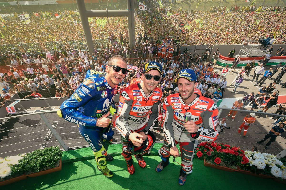 GP ITALIA – RACERESULT