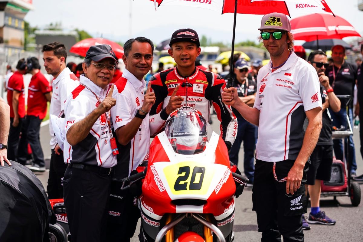 RIDER INDONESIA SIAP TURUN DI AJANG MOTO2 SERI CATALUNYASPANYOL