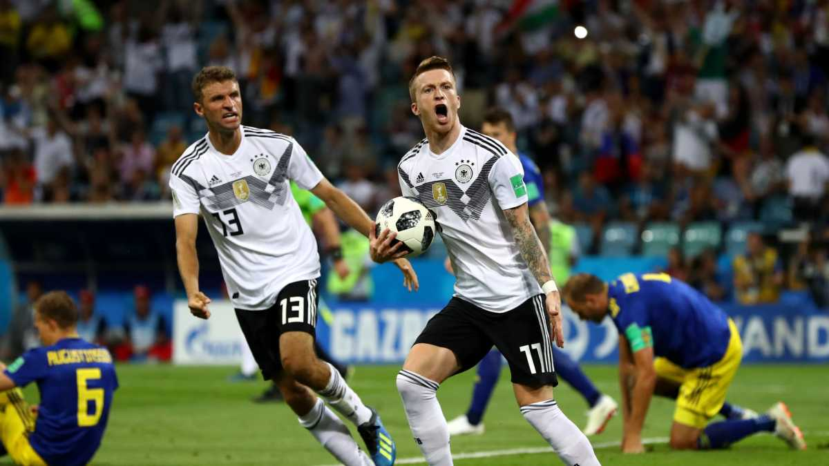 FIFA WORLD CUP 2018, GERMANY 2 – 1 SWEDEN