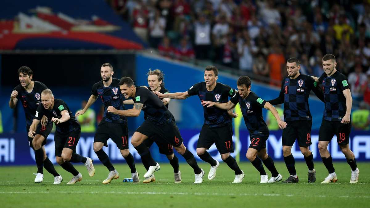 FIFA WORLD CUP QUARTER FINAL RESULT, RUSSIA 2 – 2 CROATIA