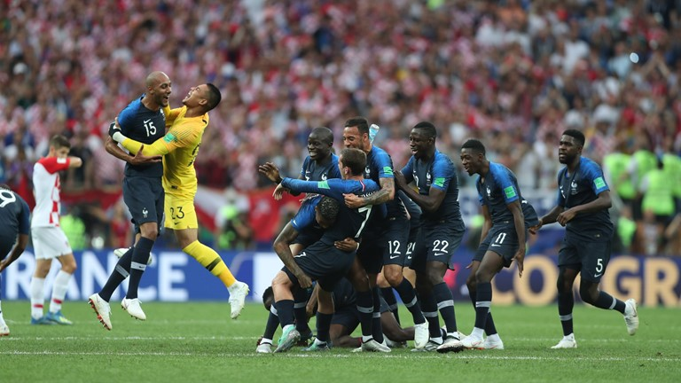 FIFA WORLD CUP FINAL RESULT, FRANCE 4 – 2 CROATIA