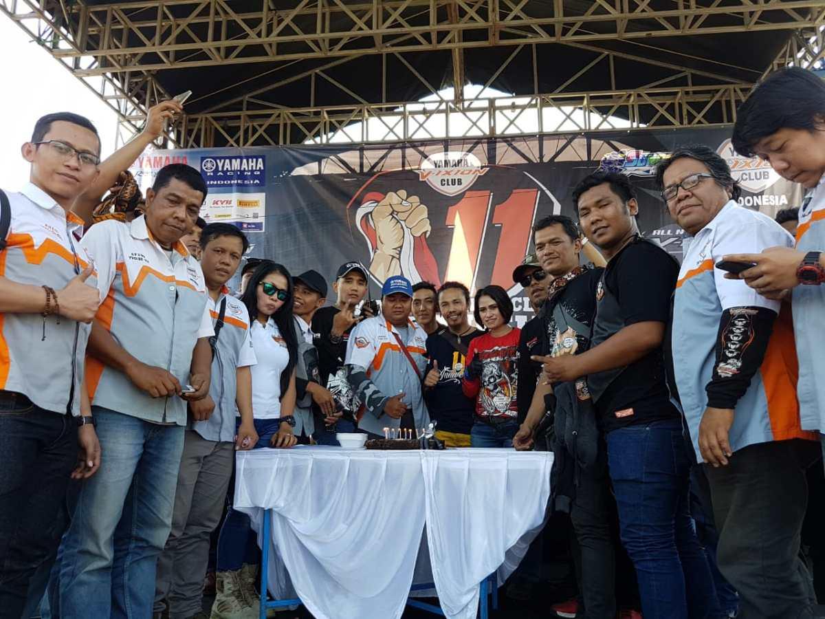 YAMAHA V-IXION CLUB INDONESIA DI SELURUH NUSANTARA LAKUKAN AKSISOSIAL