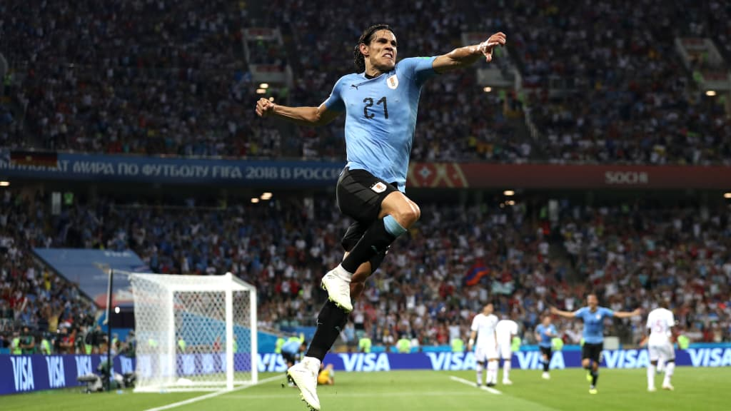 FIFA WORLD CUP KNOCK OUT RESULT, URUGUAY 2 – 1PORTUGAL