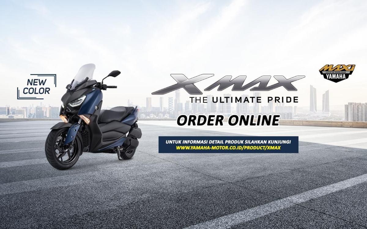 YAMAHA XMAX 250 BUKA ORDER ONLINE LAGI, DAN HADIR DENGAN WARNABARU