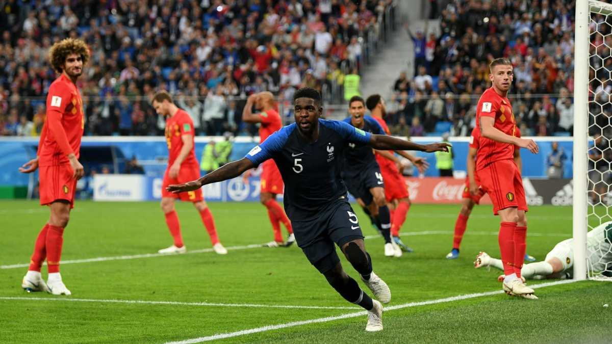 FIFA WORLD CUP SEMI FINAL RESULT, FRANCE 1 – 0 BELGIUM