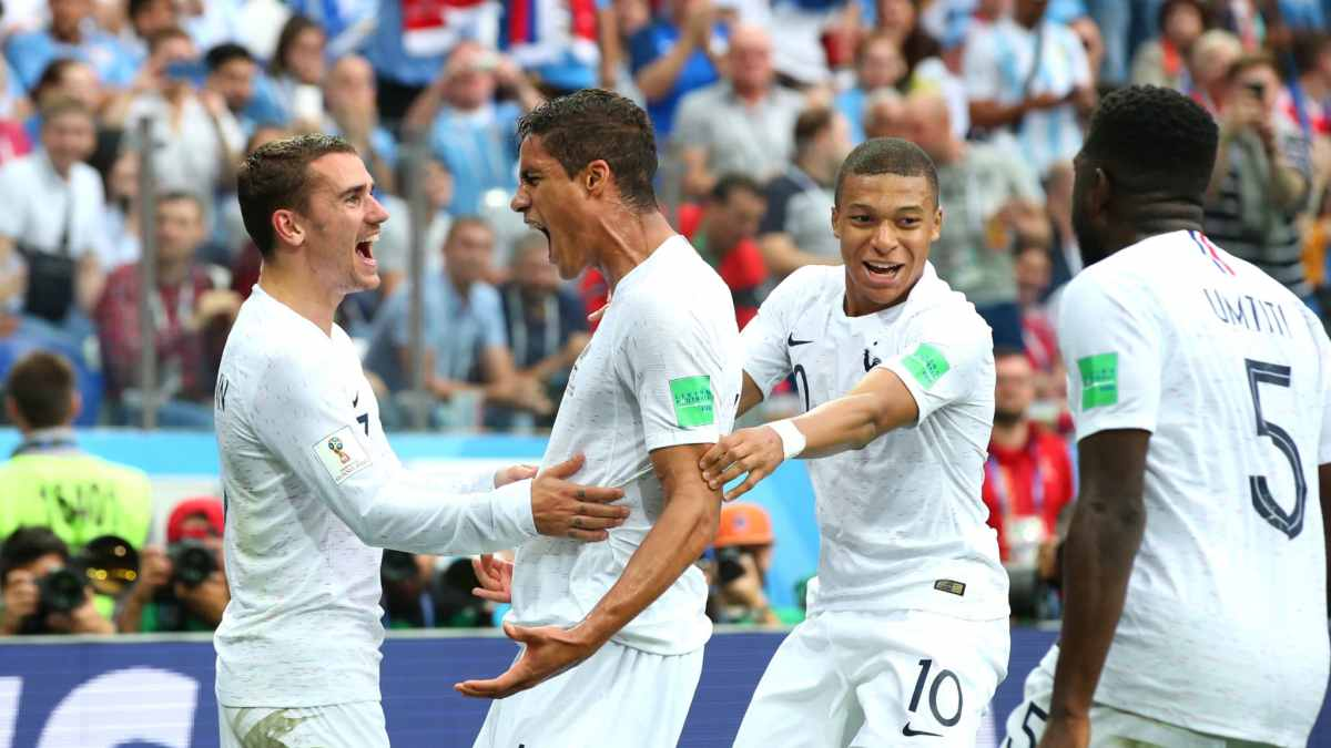 FIFA WORLD CUP QUARTER FINAL RESULT, URUGUAY 0 – 2 FRANCE