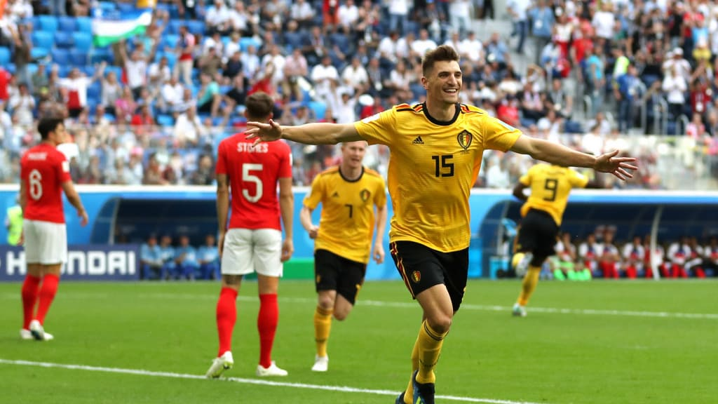 FIFA WORLD CUP THIRD PLACE RESULT, BELGIUM 2 – 0 ENGLAND