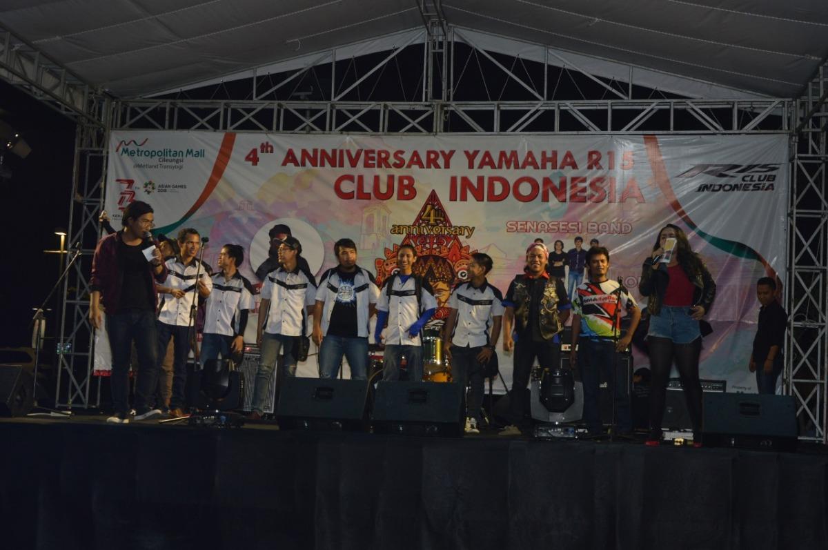 YAMAHA R15 CLUB INDONESIA SUKSES RAYAKAN HARI JADINYA YANG KEEMPAT