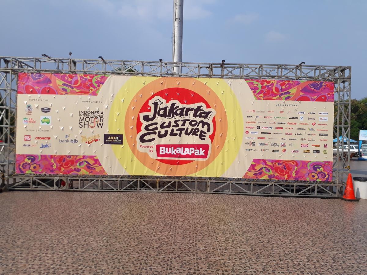 JAKARTA CUSTOM CULTURE 2018, PADUKAN LIFESTYLE RETRO & HOBBY MASAKINI