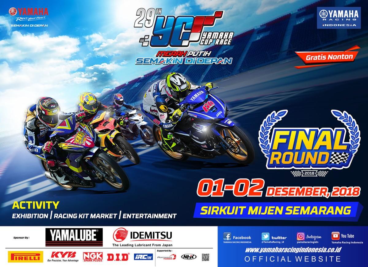 FINAL YAMAHA CUP RACE SEMARANG, SIAP DI HADIRI 72 FINALISREGION