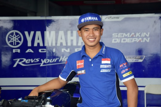 Galang Hendra Pratama, Tim YAMAHA Racing Indonesia (AP250)