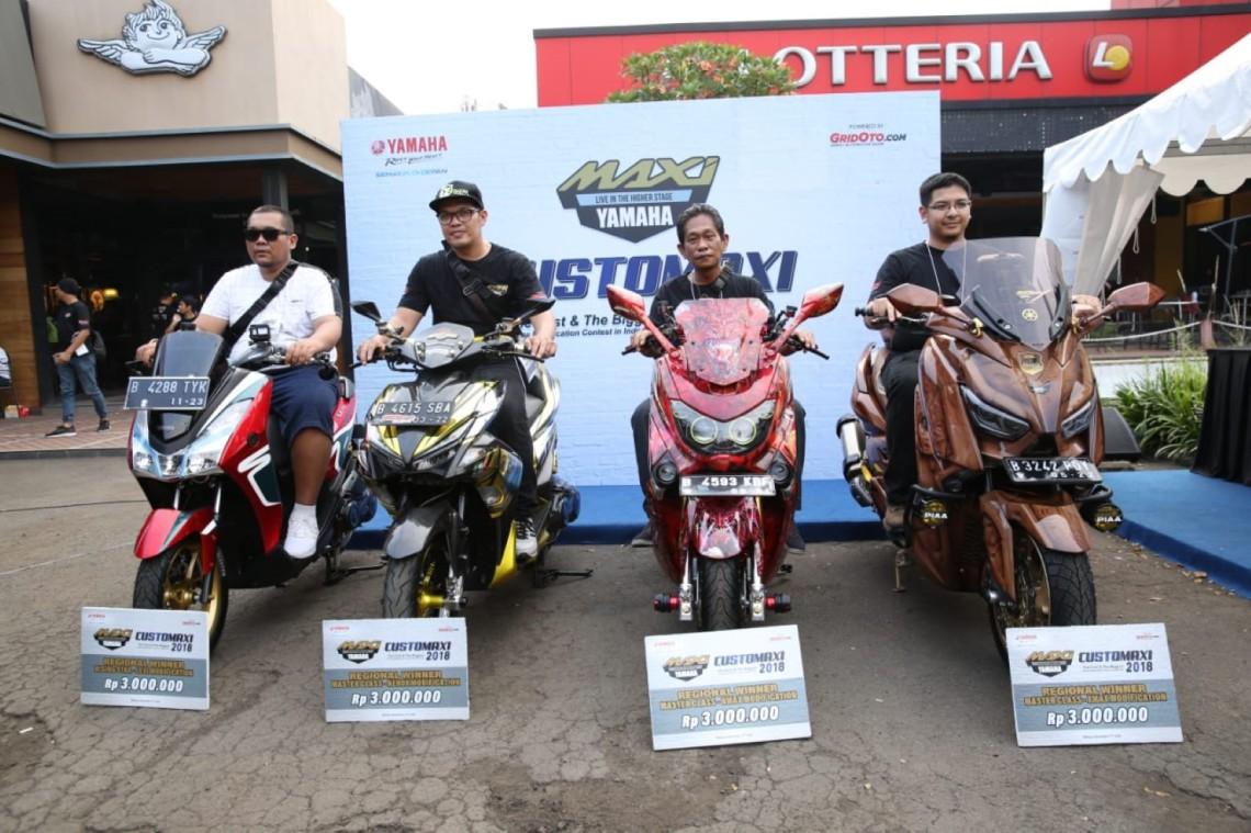 Para pemenang kategori Master Class semifinal CustoMAXI Bekasi