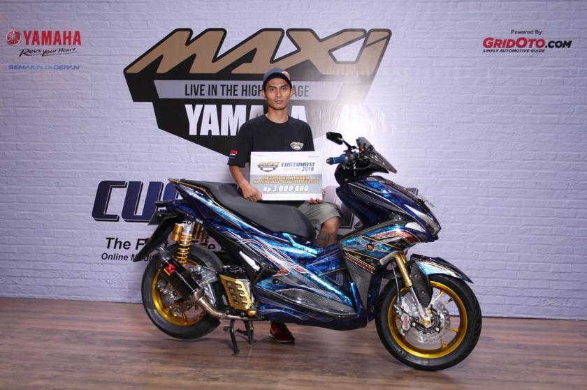 Pemenang Kategori Master Class Aerox 155