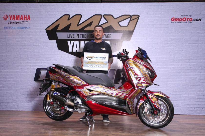Pemenang Kategori Master Class Xmax