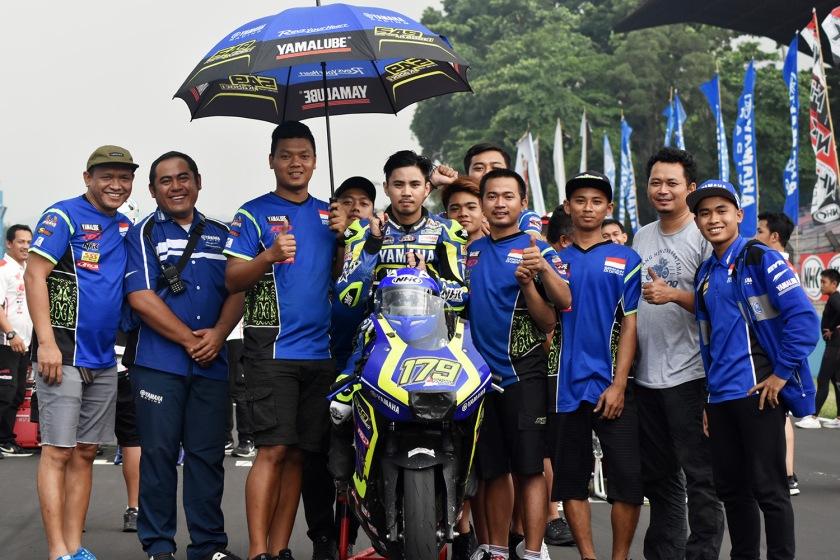 Richard Taroreh Posisi ke-2, Kualifikasi Sport 250 cc