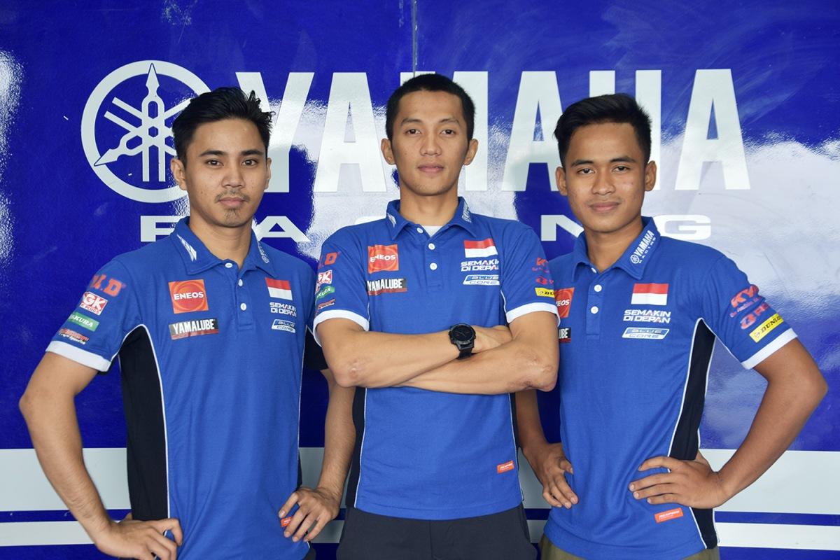 TEAM YAMAHA RACING INDONESIA SIAP TAMPIL MAKSIMAL DI SERI PAMUNGKAS BALAPASIA