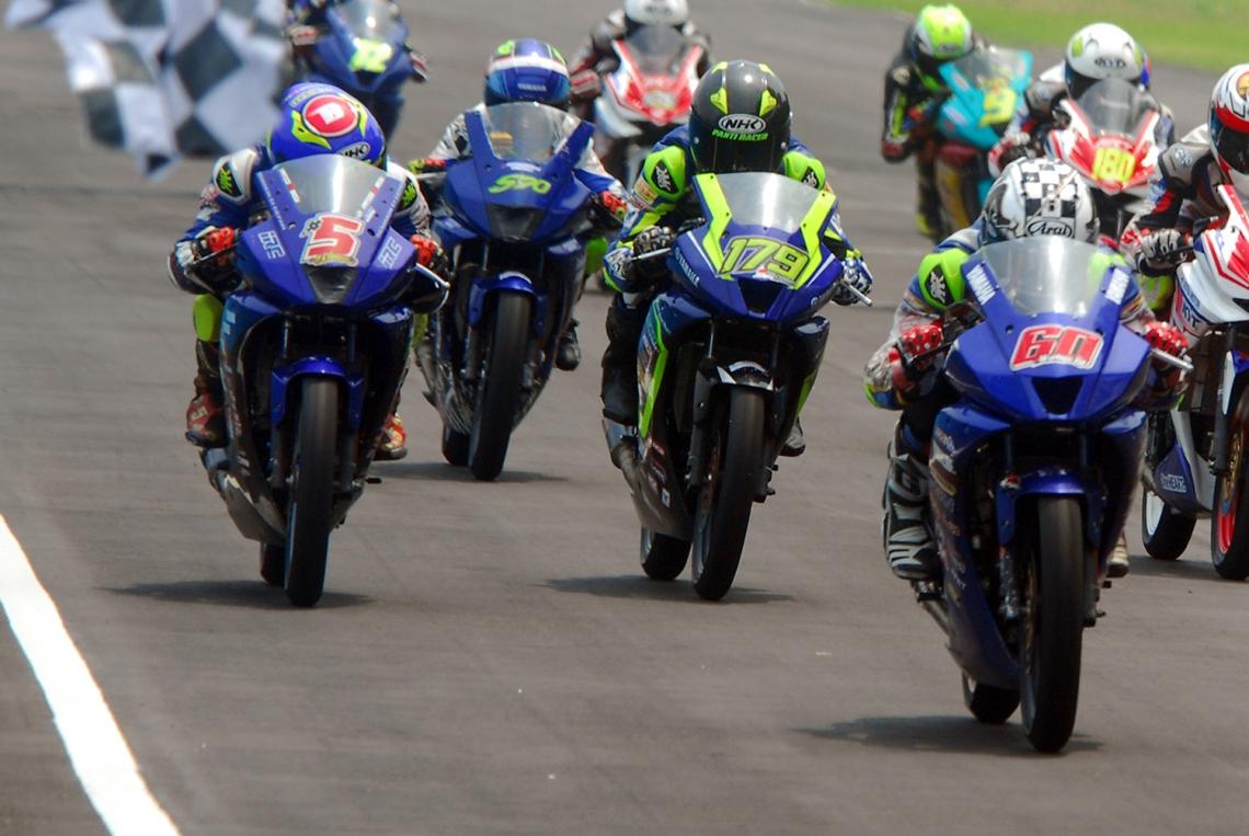 Yamaha Lanjutkan Tradisi Borong Podium Sport 150