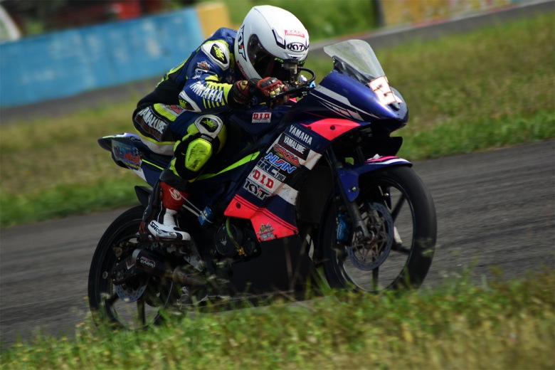 Gupita Kresna Sukses Memecahkan Rekor Best-Time Kejurnas Sport 150 cc IRS 2018 Sentul