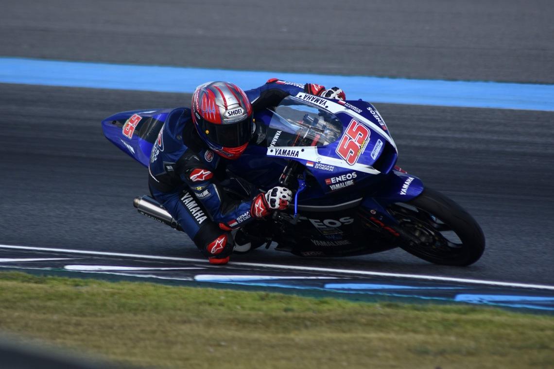 Action, Galang Hendra Pratama AP250 Tim Yamaha Racing Indonesia (1)