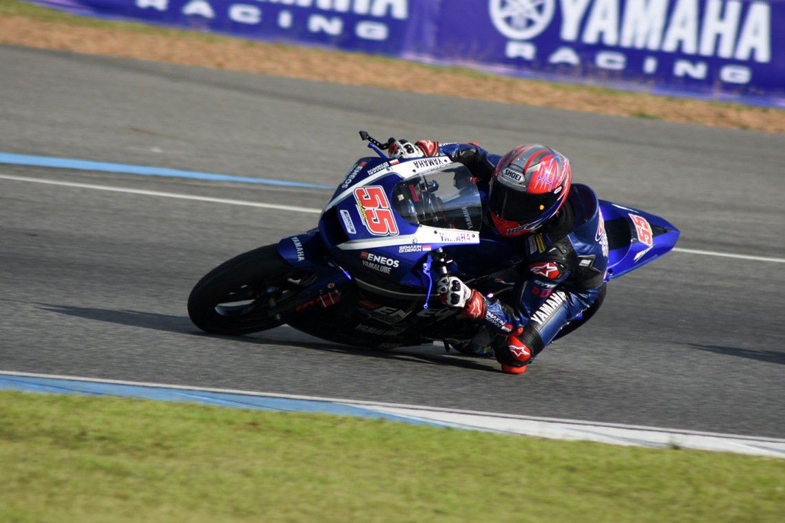 Action, Galang Hendra Pratama AP250 Tim Yamaha Racing Indonesia
