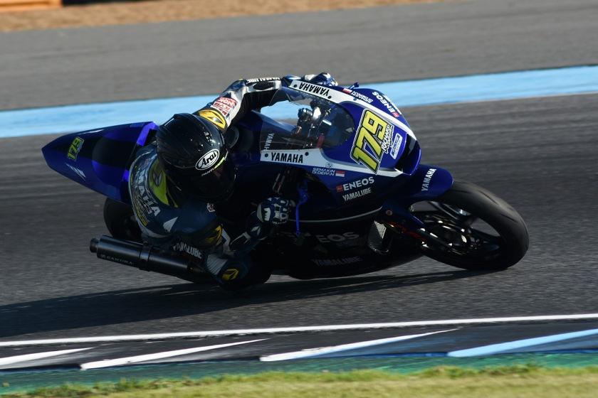 Action, Richard Taroreh AP250 Tim Yamaha Racing Indonesia
