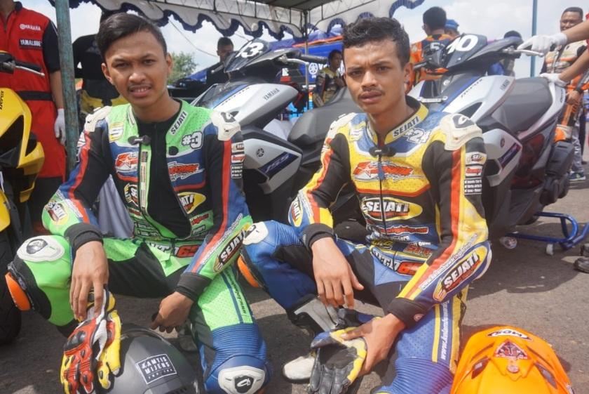 Aldo dan Irvan, Peserta Dari Komunitas X Rider Semarang