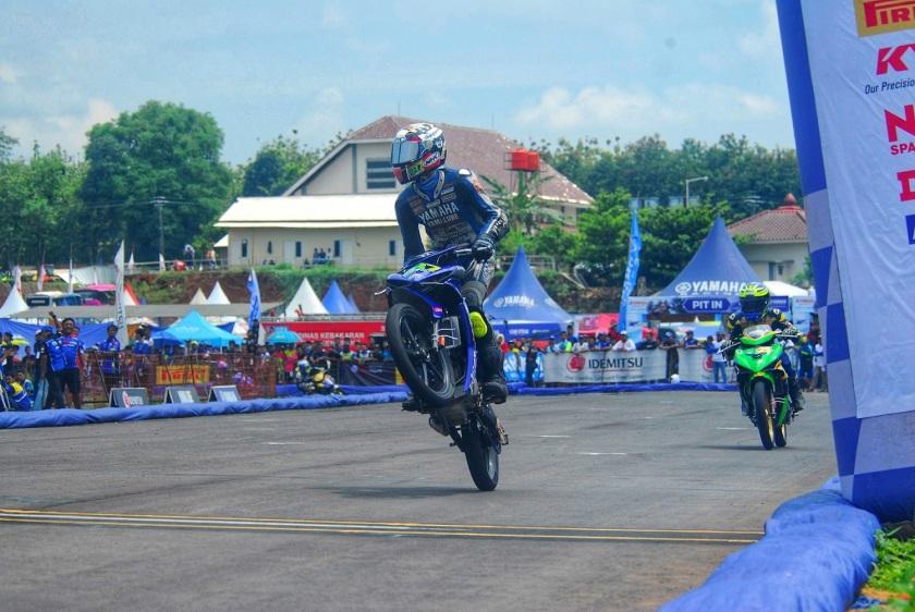 Arianto Tarzan, Sukses Raih Dua Gelar Juara Umum Kelas YCR1 (150 cc) dan YCR2 (125 CC)